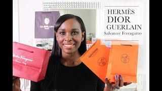 Collective Luxury  & Beauty Haul | Hermes | Ferragamo | Dior | Guerlain | TheLuxeBabe