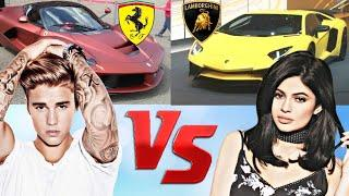 Kylie jenner Vs Justin Bieber Car Collection 2018 ⭐ Who Is The Best ? ⭐