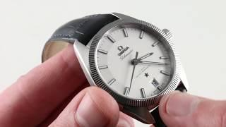 Omega Constellation Globemaster Co-Axial 130.33.39.21.02.001 Luxury Watch Review
