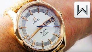 Omega De Ville Hour Vision Annual Calendar (431.60.41.22.02.001) Luxury Watch Review
