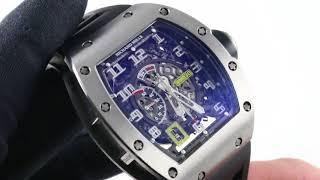 Richard Mille RM 030 Titanium Luxury Watch Review