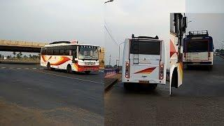 TATA BS-4 BUS | APSRTC Brand New SUPER LUXURY BUS | PUTTAPARTHI BUS