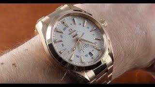 Omega Seamaster Aqua Terra GMT 150m 231.50.43.22.02.001 Luxury Watch Review