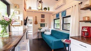 Stunning Luxury Chic Tiny Home w/ Elegant Interior Design & Well-Thought-Out Floor Plan