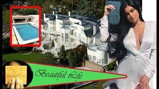 Kylie Jenner reveal inside her luxury mansion as she shows off huge pool, tennis courts and bedroom