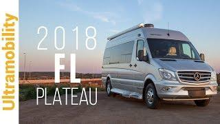 2018 Pleasure-way Plateau FL Review | A Front & Rear Lounge Luxury Class B Camper Van