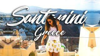 TRAVEL VLOG: Luxury Travel in SANTORINI, GREECE