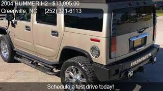 2004 HUMMER H2 Lux Series 4WD 4dr SUV for sale in Greenville