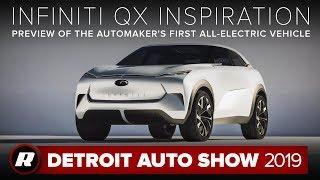 Infiniti QX Inspiration concept is one good-looking EV   Detroit 2019