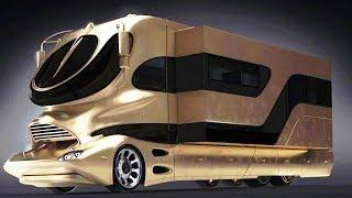 Top 10 Luxury CAMPERVANS & MOTORHOMES in the world