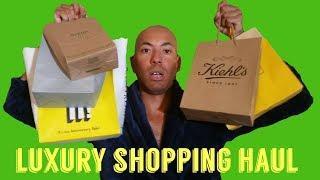 Luxury shopping haul