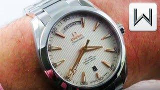 Omega Seamaster Aqua Terra 150M Day Date (231.10.42.22.02.001) Luxury Watch Review