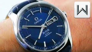 Omega De Ville Hour Vision Annual Calendar (431.33.41.22.03.001) Luxury Watch Review