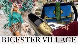 COME LUXURY SHOPPING! BICESTER VILLAGE DESIGNER OUTLET HAUL
