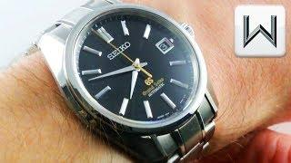 Grand Seiko Automatic SBGR083 Limited Edition Historical Collection Luxury Watch Review