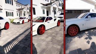 Blac Chyna Flexing Showing She Aint Hurting For NOTHING! ALL MATCHING LUXURY CARS!