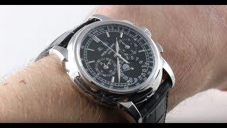 PATEK PHILIPPE 5970P Perpetual Calendar Chronograph 5970P-001 Luxury Watch Review