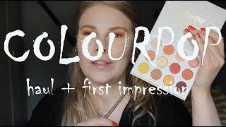 | ColourPop | Haul + First Impression |