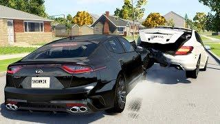 Luxury Car Crashes Compilation #24 - BeamNG Drive