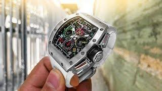 Richard Mille RM 11-02 GMT Luxury Watch Review