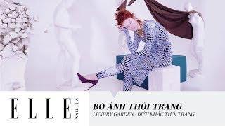 [Bộ Ảnh Thời Trang] Luxury Garden - Điêu Khắc Thời Trang | ELLE Việt Nam
