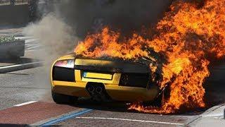 CAR CRASH LUXURY CARS AND SUPERCARS  CRASH COMPILATION//USA//RUSSIA//EUROPA// 2018