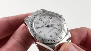 Rolex Explorer II 16570 Luxury Watch Review