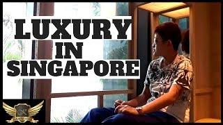 Luxury 5 Star Hotel Lifestyle (Parkroyal on Pickering Singapore)
