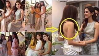 Mahira Khan in hot dress and Reema at Lux Tvc Launch Event