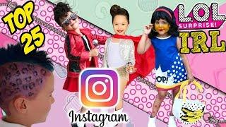 LOL Surprise Dolls In Real Life   Best Real Life LOL Dolls On Instagram #lolsurpriseirl   LOL Videos