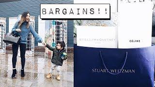 I SAVED SO MUCH MONEY! BICESTER VILLAGE LUXURY HAUL + VLOG
