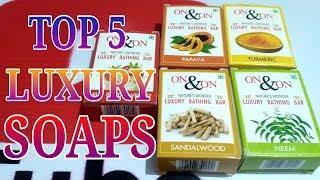 TOP 5 LUXURY SOAPS ON AMAZON