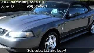 2003 Ford Mustang Premium 2dr Convertible for sale in Boise,