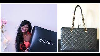 CHANEL GST XL   | UNBOXING LUXURY BAG  | JACKIE MURPHY