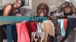 A DAY IN THE LIFE OF A YOUNG CEO: UNBOXING 200 DURAGS: LV, VELVET& SILK| @theblackgirlplug