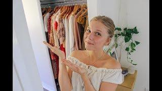 ETHICAL CLOTHING WARDROBE TOUR!