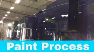Luxe Elite luxury 5th wheel - Paint Process