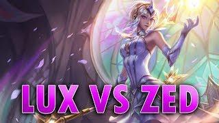Lux vs Zed mid | League of Legends Ranked