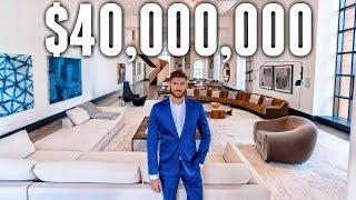 Inside a $40 Million Luxury NYC Apartment (BILLIONAIRE MEGA MANSION)