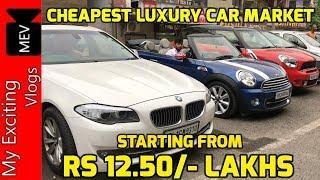 LUXURY CAR MARKET IN DELHI | AUDI | BMW | MINI COOPER COUNTRYMAN | COOPER CONVERTIBLE | VIKASPURI