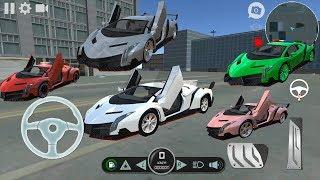 Lambo Car Simulator- Tunning Car Compilation - Luxury Supercar Driving Simulator Android Gameplay