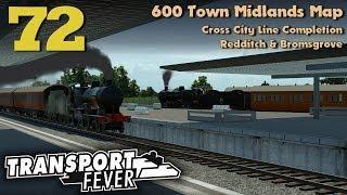 Transport Fever 600 Town Midlands Map #72: Cross City Line Completion | Redditch & Bromsgrove