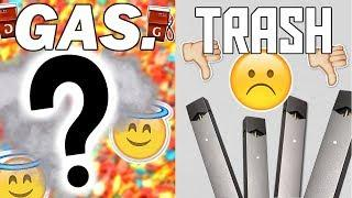 JUUL IS TRASH, THIS IS GAS... (lux vape pen review and sesh)