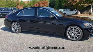 NEW 2019 MERCEDES-BENZ S-CLASS S 560 SEDAN at RBM of Alpharetta - New #M66629