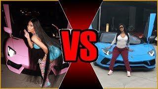 Nicki Minaj V/S Cardi B | Who has the Better Luxury Car Collection?