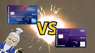 Hilton Aspire Card VS SPG Luxury Card: Which is a BETTER DEAL?
