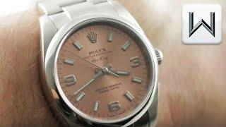Rolex Air King Salmon Dial (114200) Luxury Watch Review