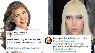 Maine Mendoza at Vice Ganda NAGBANGAYAN SA Twitter?