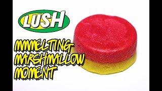 LUSH - Melting Marshmallow Moment Luxury Bath Oil - DEMO - Underwater - REVIEW