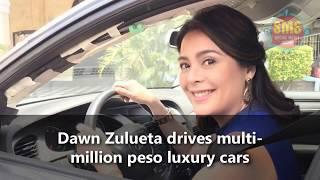 Dawn Zulueta drives multi-million peso luxury cars